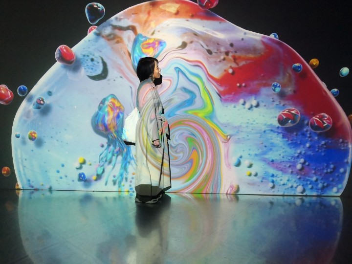 「OCEAN BY NAKED 光の深海展」デジタルアートで手軽に癒しと映え♡_2