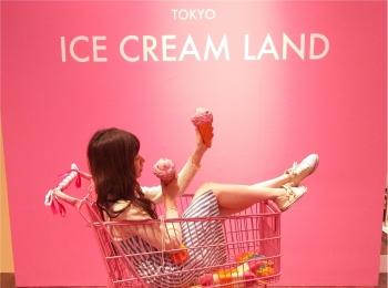 アイスクリームの夢の国「ICE CREAM LAND」でフォトジェニック空間を満喫♡横浜コレットマーレ5/27まで!