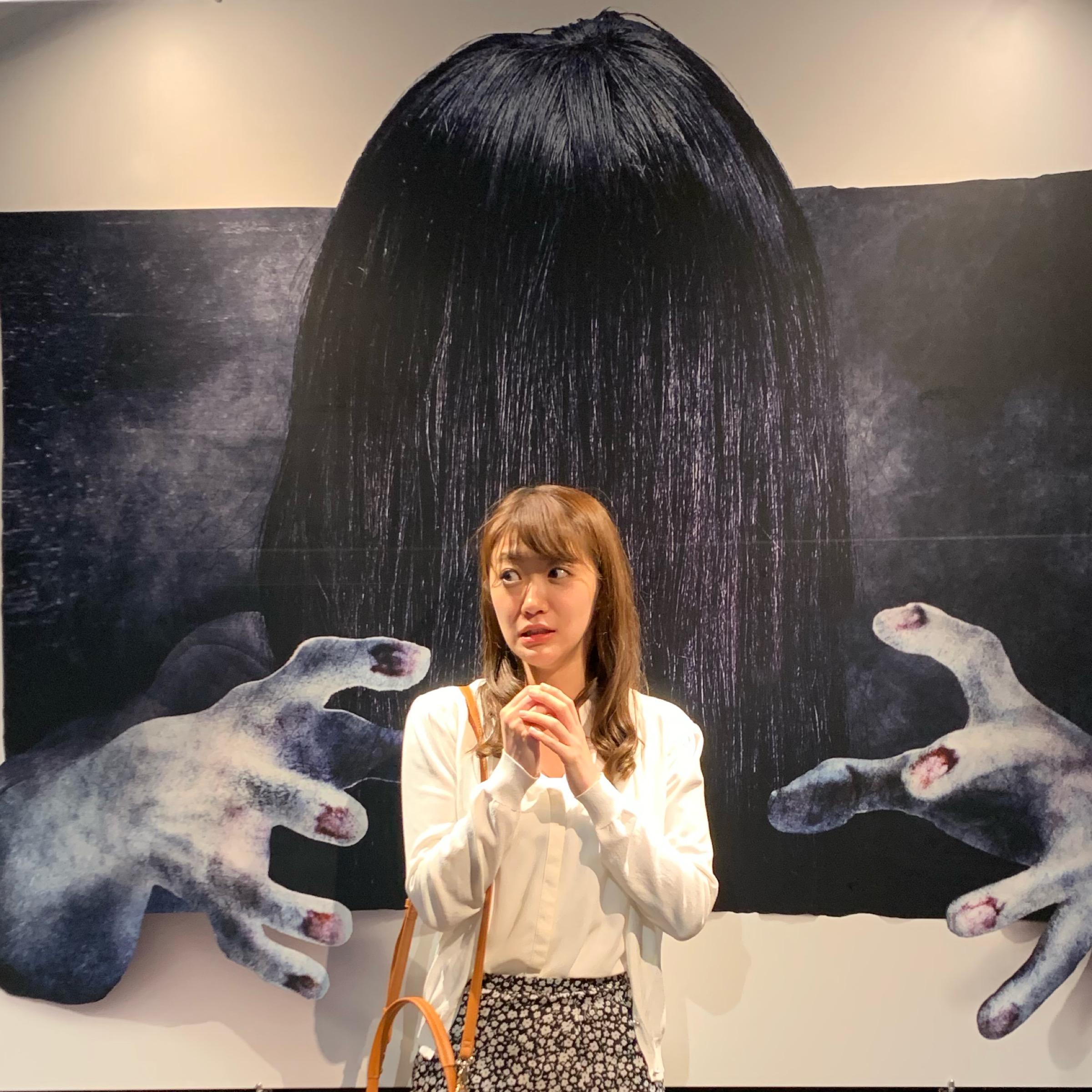 《思わずヒヤッ?!》なインスタ映え 貞子展で貞子体験してきた!_2