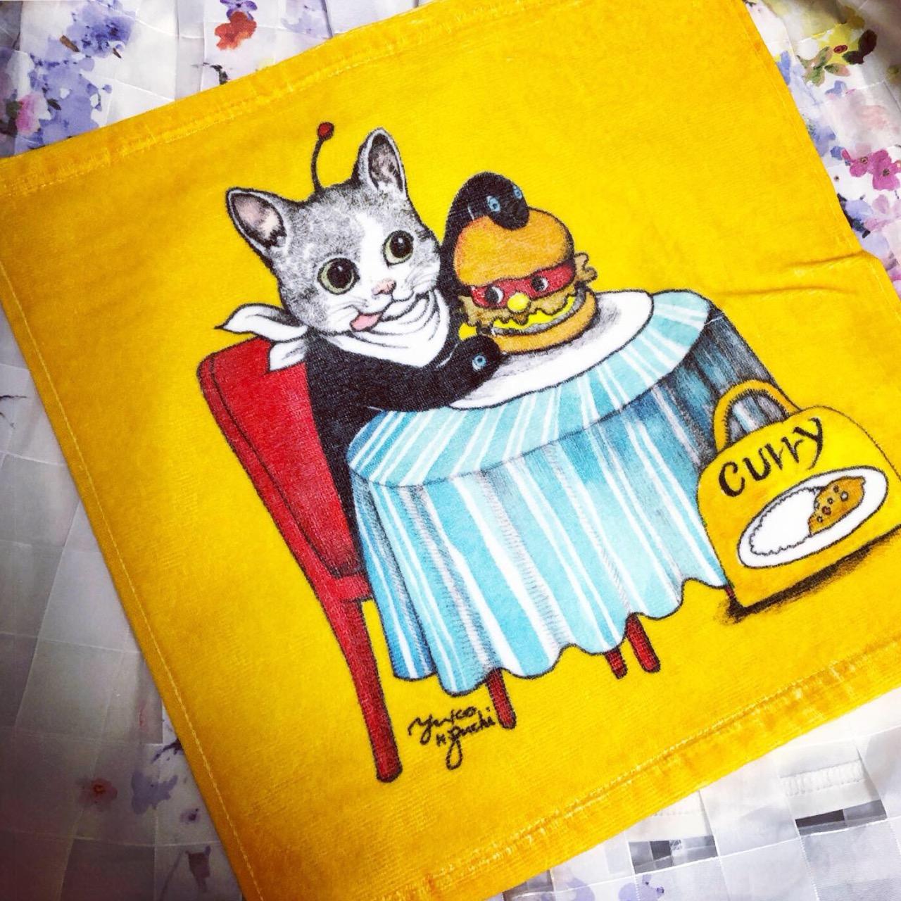ギュスターヴくんがかわいすぎる♡「ヒグチユウコ オリジナルタオル」がもらえる!スペシャルセットがモスバーガーで限定販売中!♡_2
