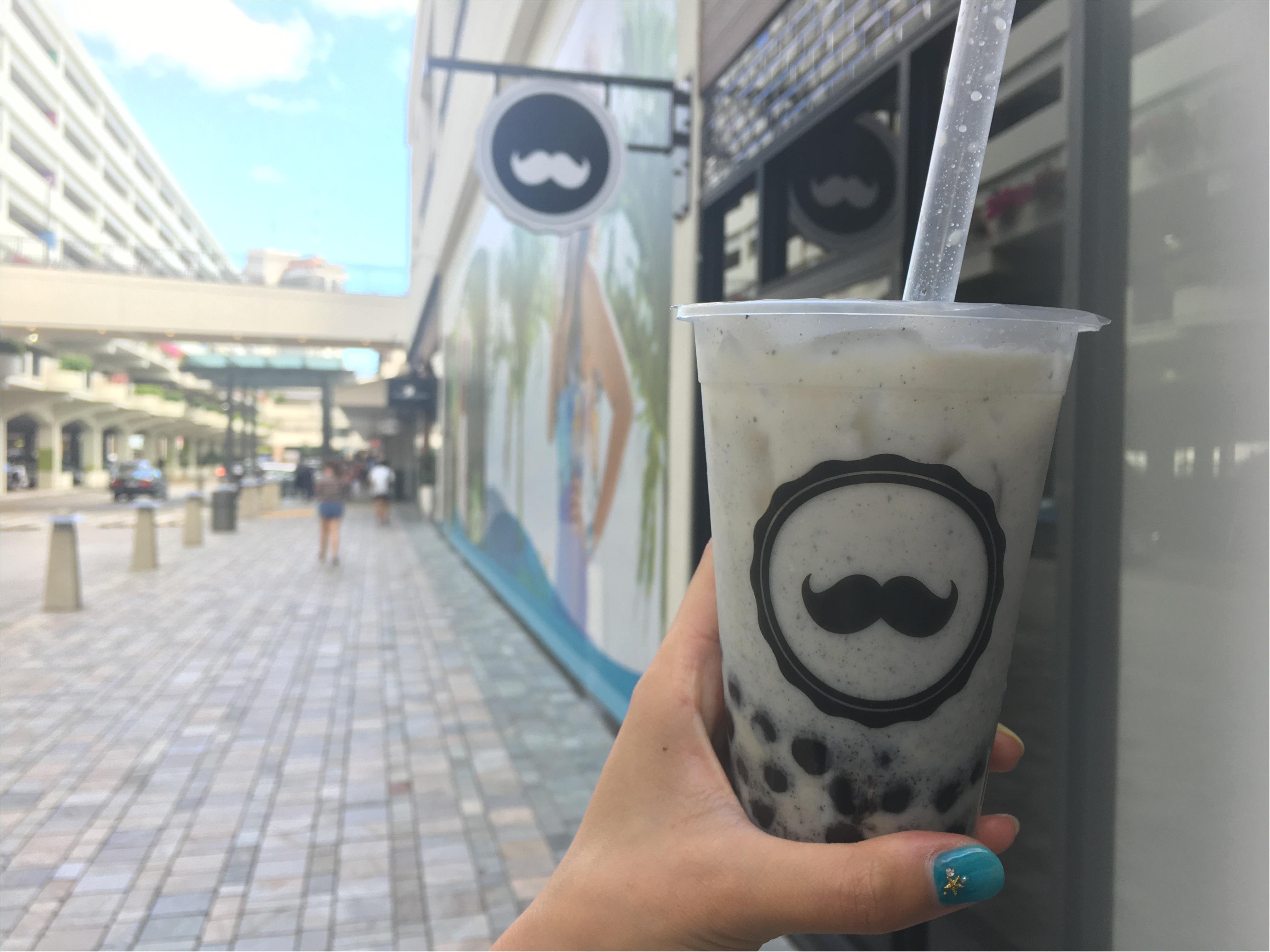 ヒゲマークがカワイイ♡●●で飲めるタピオカミルクティー「Mr.Tea Cafe」_2