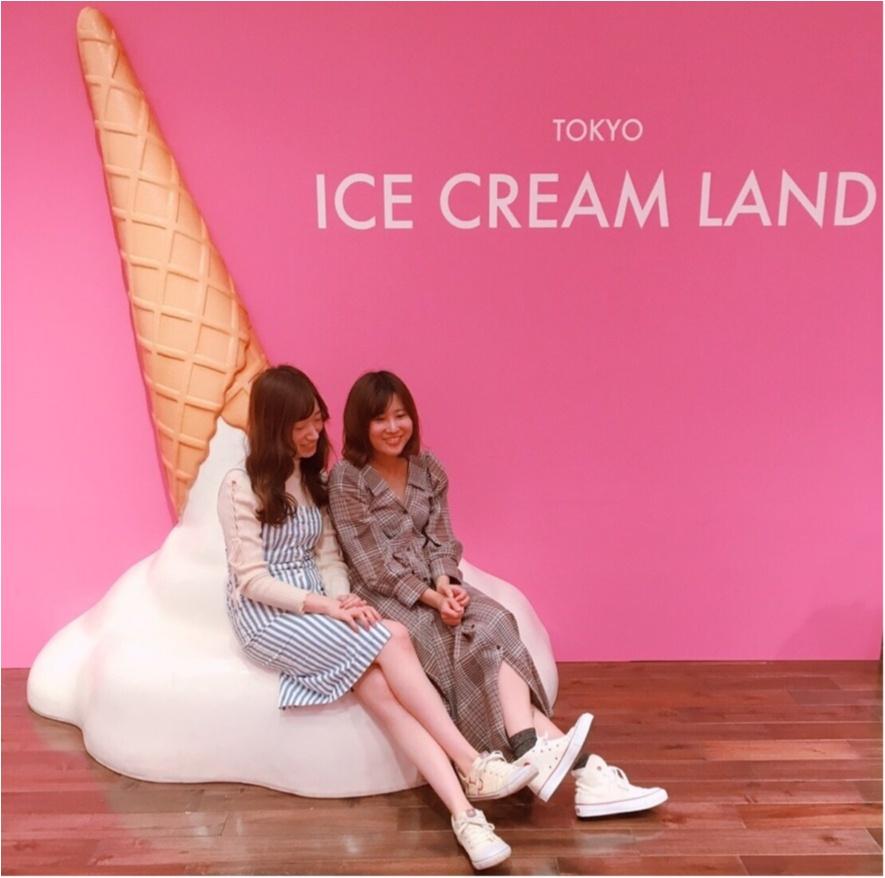 アイスクリームの夢の国「ICE CREAM LAND」でフォトジェニック空間を満喫♡横浜コレットマーレ5/27まで!_3_1