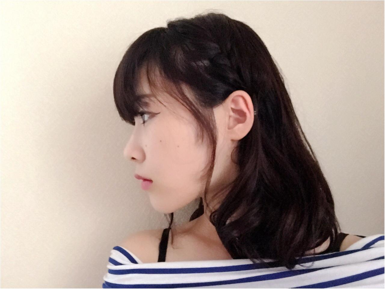 NMB48の女子力おばけ♡吉田朱里さん風ヘアアレンジ_4