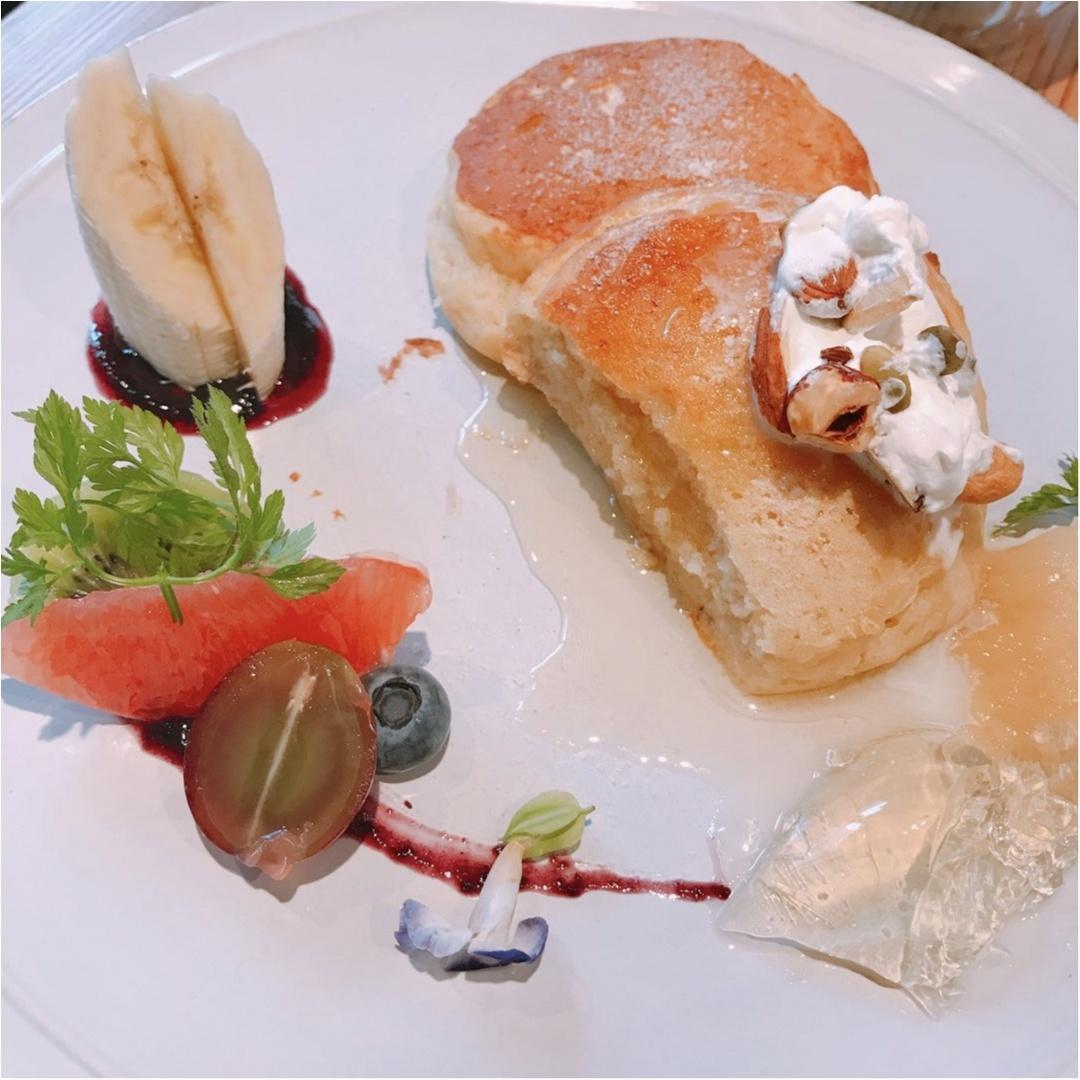 【オーガニックカフェ】罪悪感なく食べられる低カロリーなパンケーキ♡_8