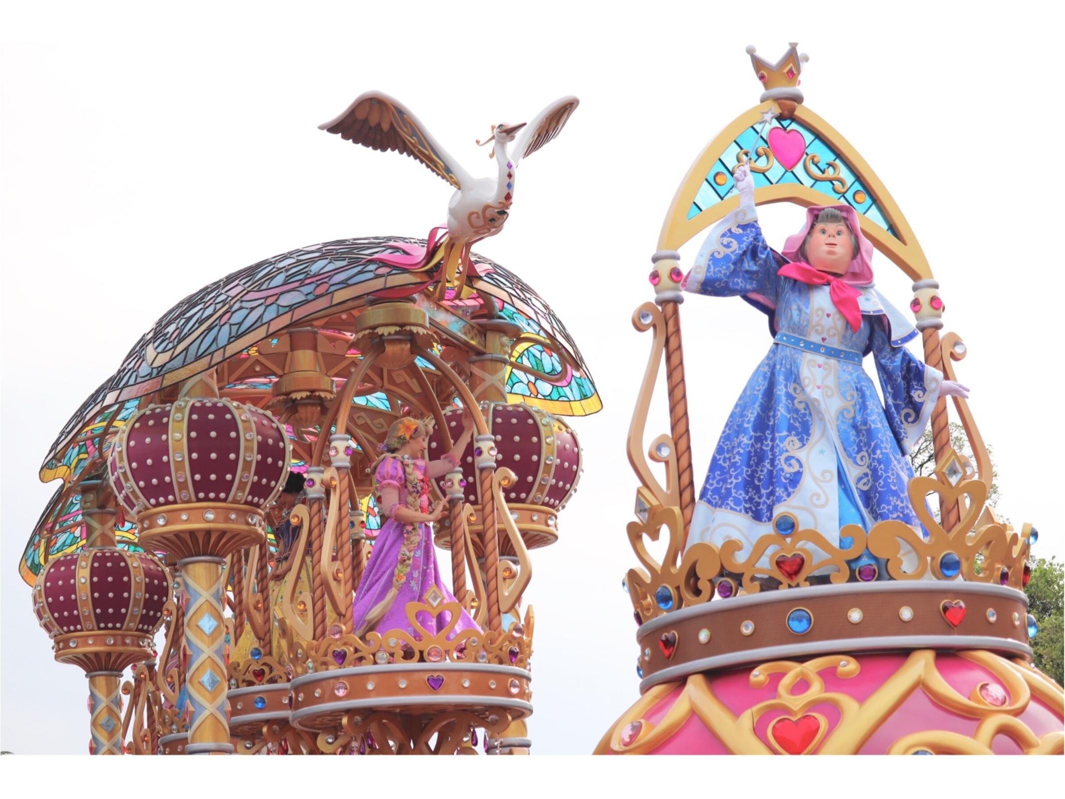 ▷【東京ディズニーランド35周年】Newパレード「ドリーミング・アップ!」がとにかく凄い!!_13