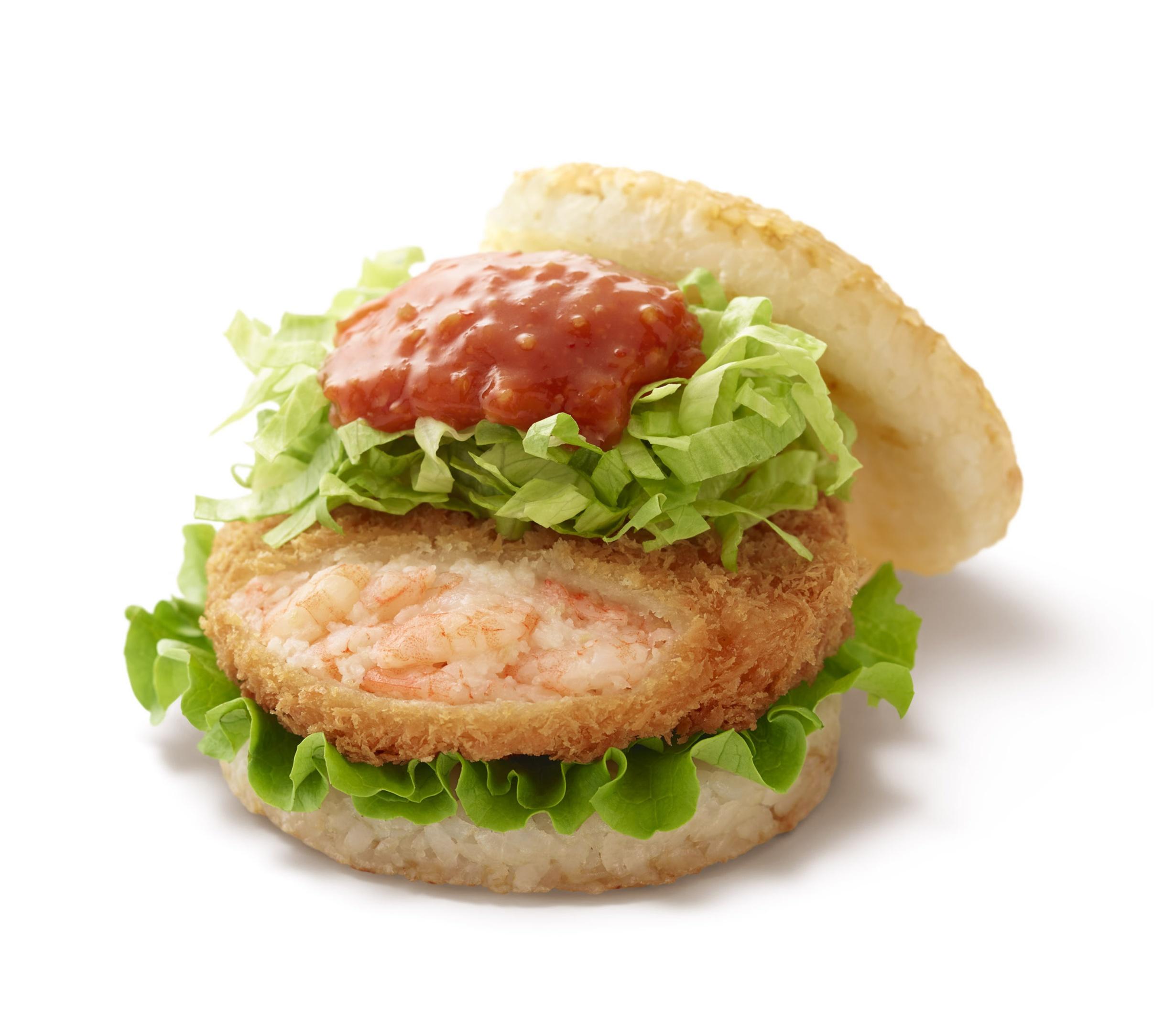 海老蟹ラバー必見! 甘辛&ぷりっぷり! 『モスバーガー』の新作は「リッチ海老カツバーガー 蟹チリソース」♡_2