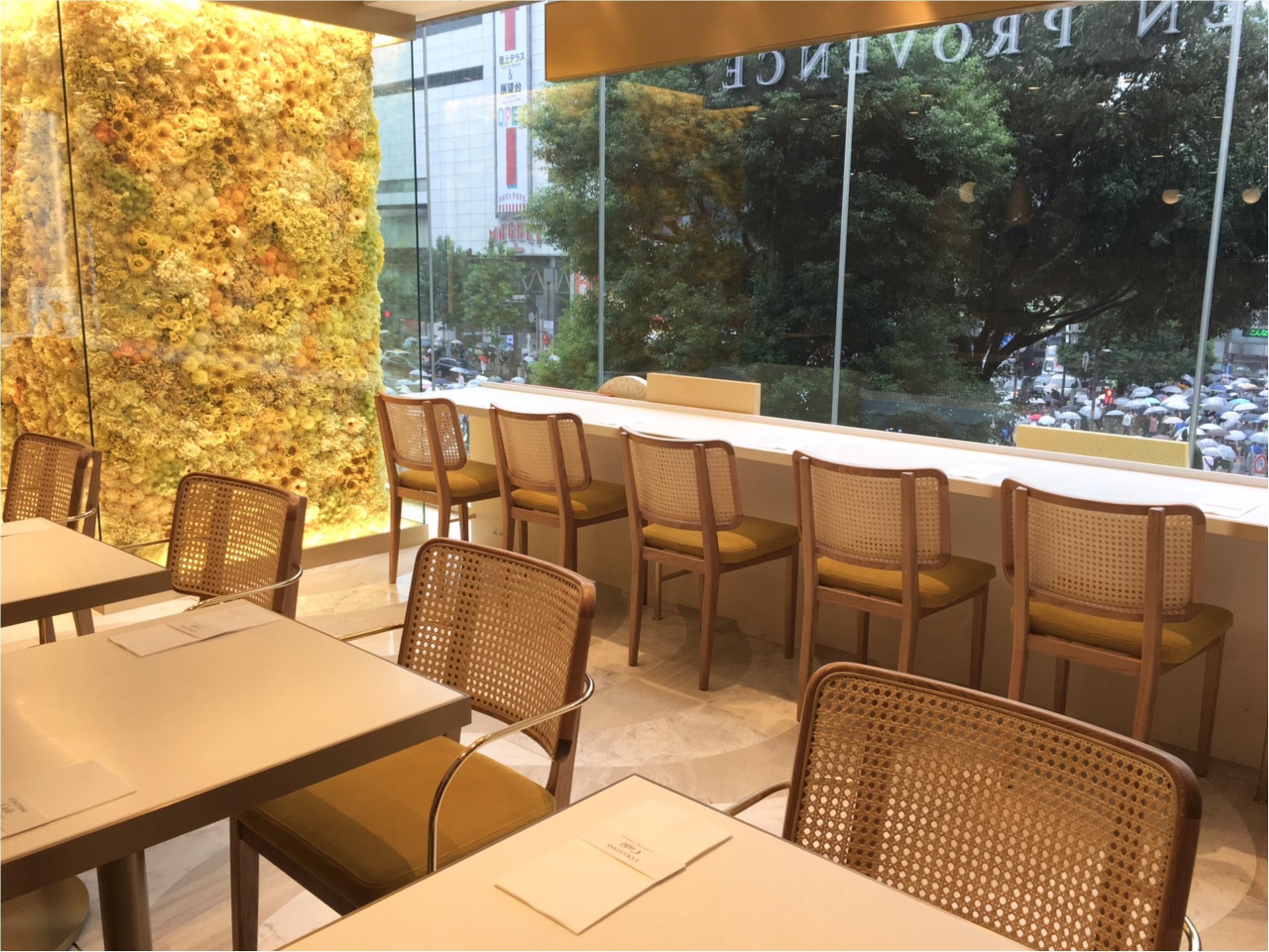 L'OCCITANE Café by Pierre Hermé(ロクシタンカフェ バイ ピエール・エルメ)へ♡_2