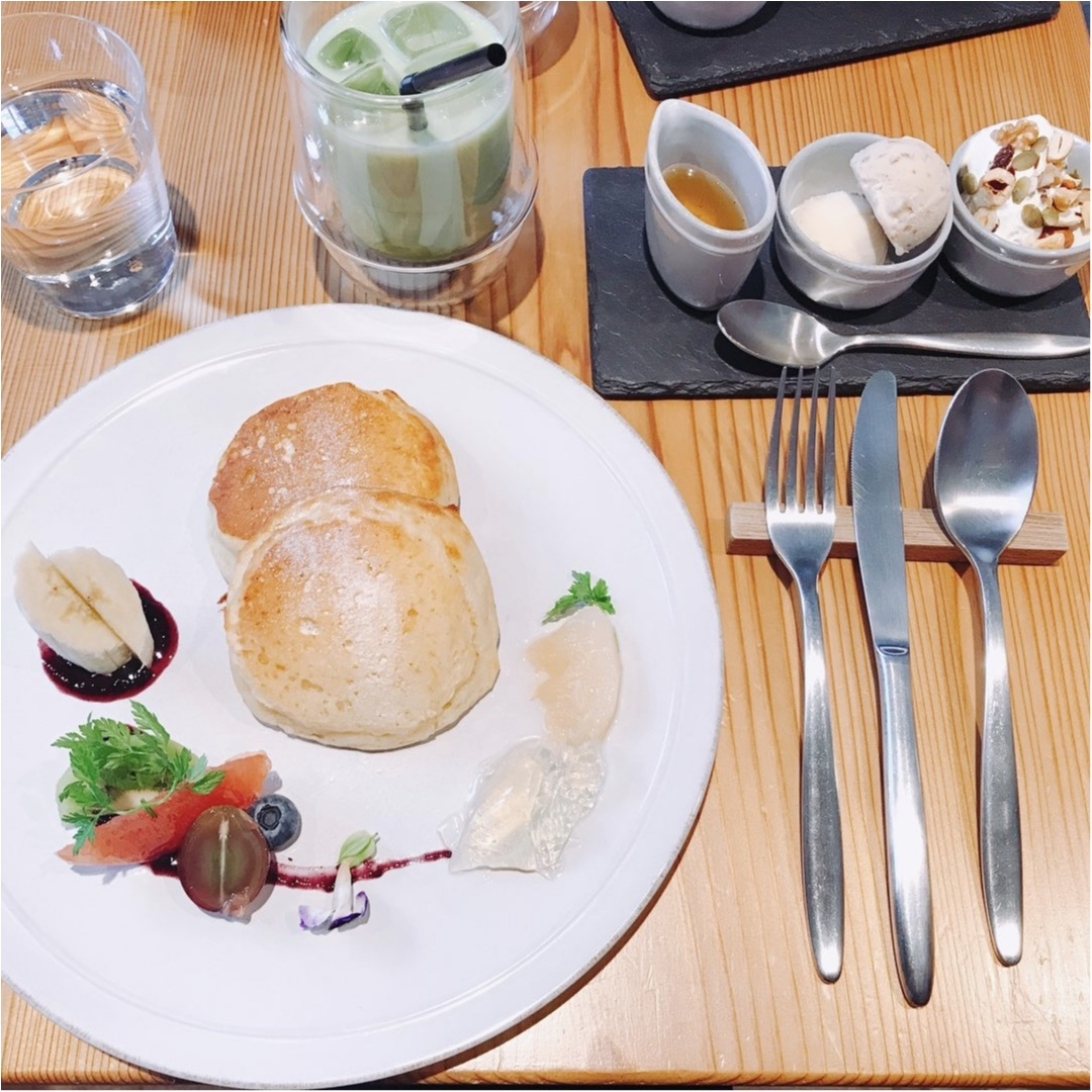 【オーガニックカフェ】罪悪感なく食べられる低カロリーなパンケーキ♡_10