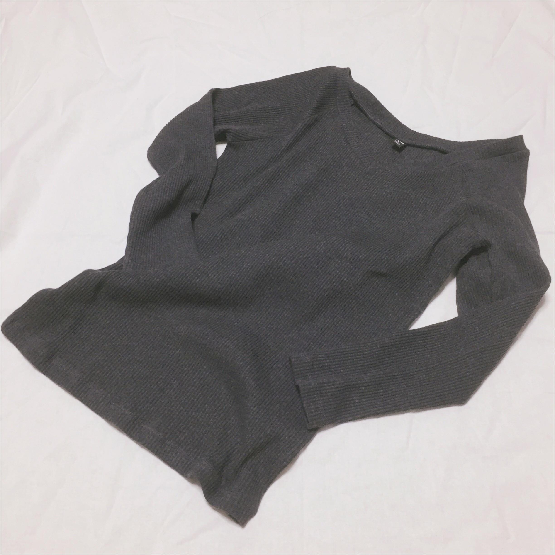 【UNIQLO】着るだけで女子度UP♡優秀リブバレエネックT_1