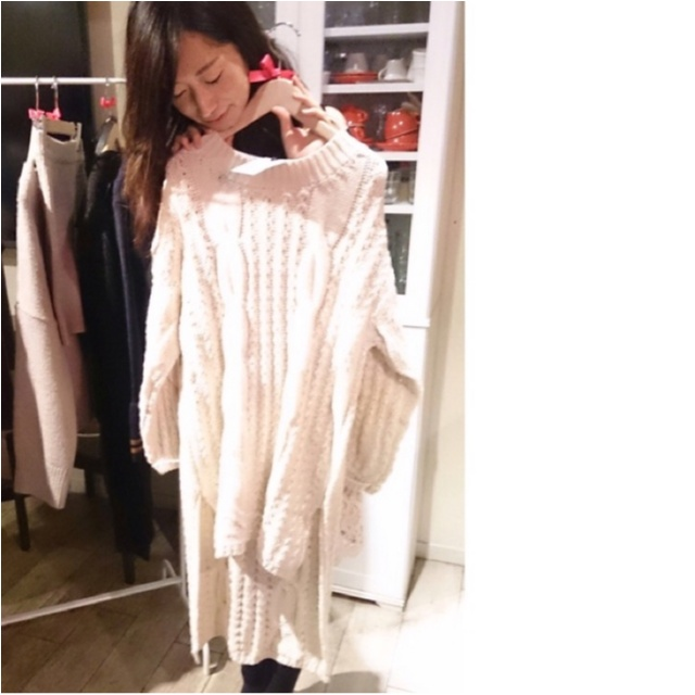 韓国で人気のファッションブランド『LALAEL』が日本上陸✨ニットとパンツをゲットしました♡≪samenyan≫_7