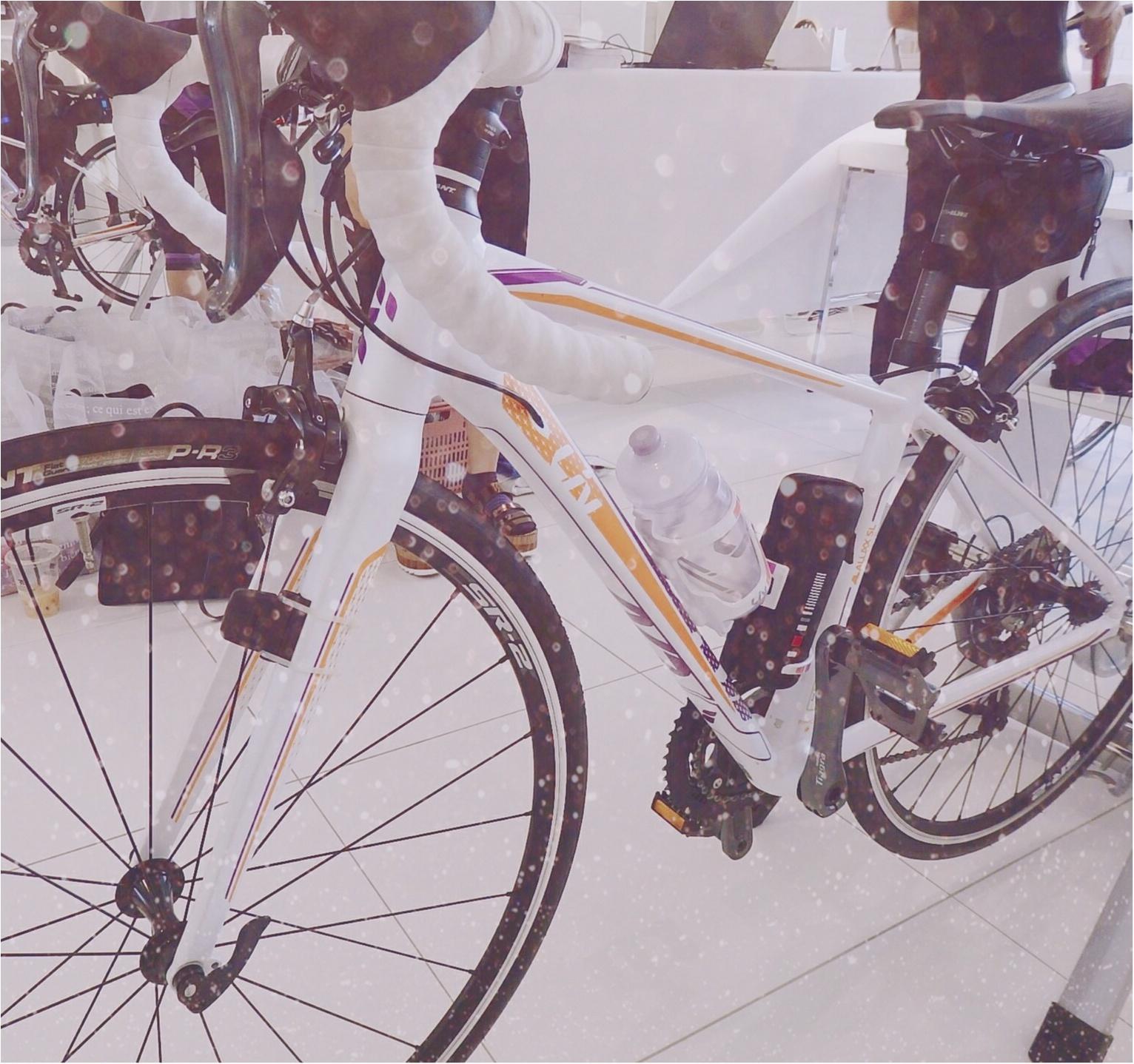 「ツール・ド・東北」完走のため一緒にがんばる相棒♡わたしたち三人娘の自転車を徹底解説!【#モアチャレ さえ】_3