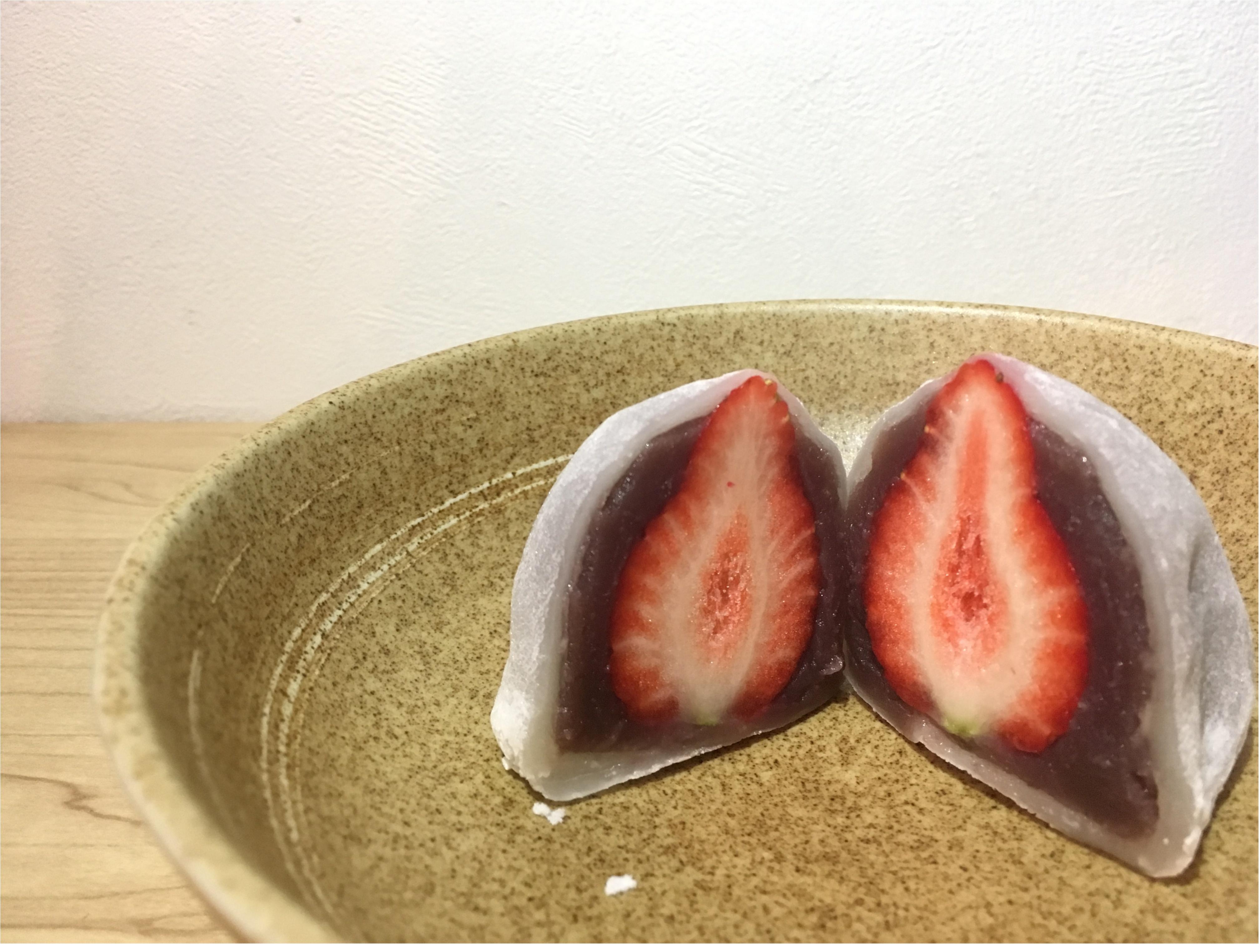 【季節限定】本当は秘密にしたい!!あまおう2Lサイズを使った南青山 和菓子⚫︎⚫︎のいちご大福_4