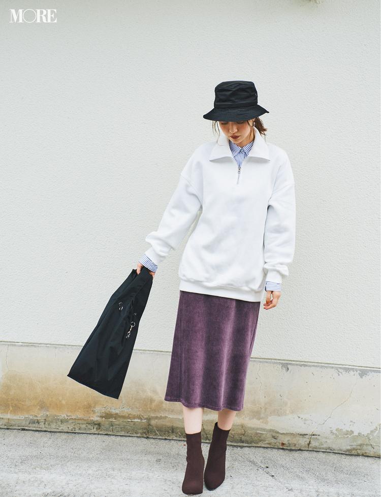 『GU』ならニットの重ね着が、1780円でこんなに素敵!! この秋はレイヤードをプチプラで♬_3