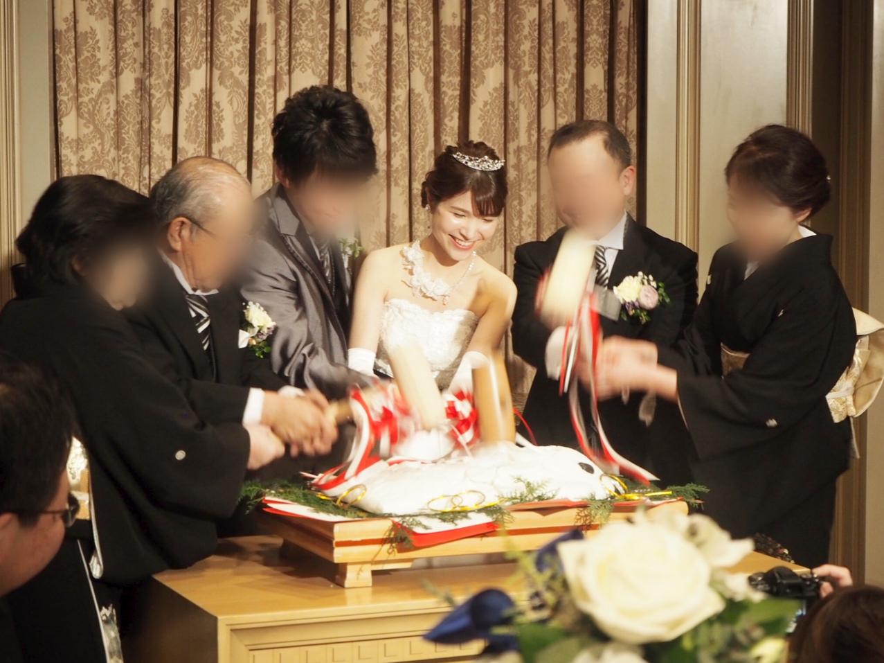 【椿山荘】Reina❤️ちゃんの和やか結婚式_5