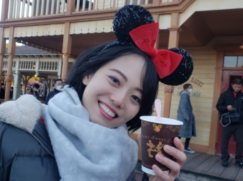 あっちもこっちもミニーちゃん仕様❤️詳しい友達とディズニーランドへ行ってきた!