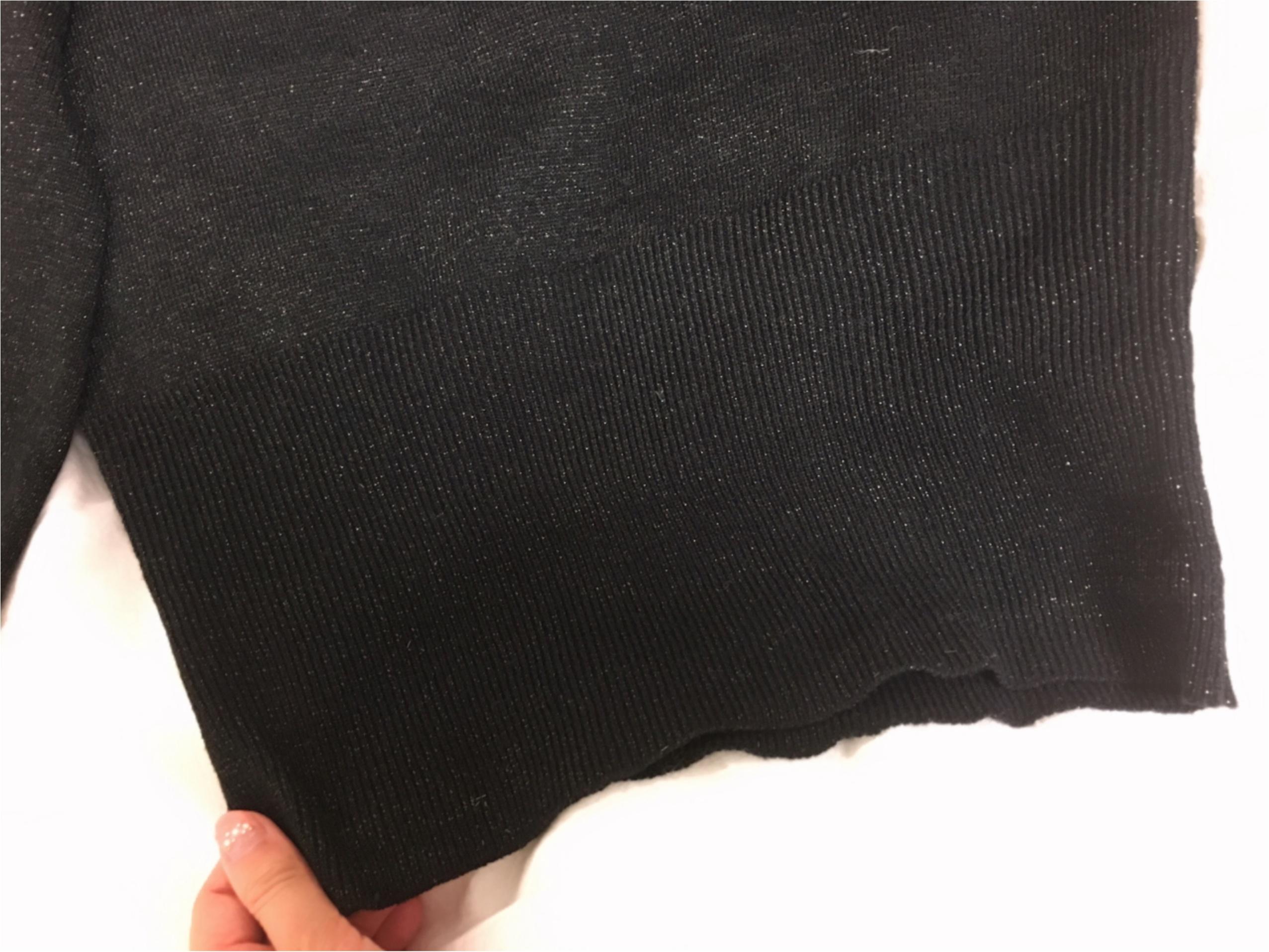 【GU】『ラメパフスリーブセーター』は、あまり取り上げられていない隠れヒット服!_5