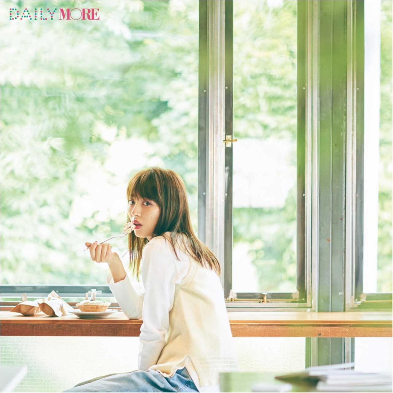 内田理央&イガリシノブさんが提案!「おひとりさまでケーキの日」は「ピーチリップ♡メイク」が断然可愛い♪_1