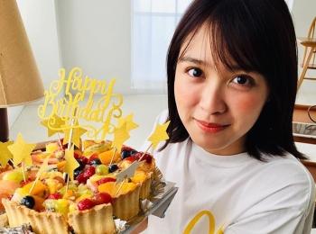 松本愛ちゃんお誕生日おめでとうサプライズを決行♡【撮影のオフショット】