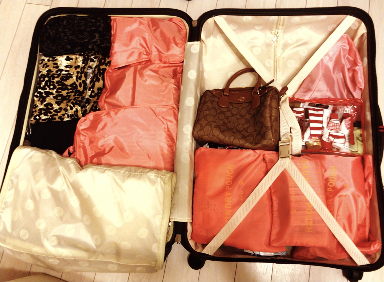 【travel】旅行におすすめのバッグやパッキング術、機内での服装など。役立つ情報をご紹介!_2