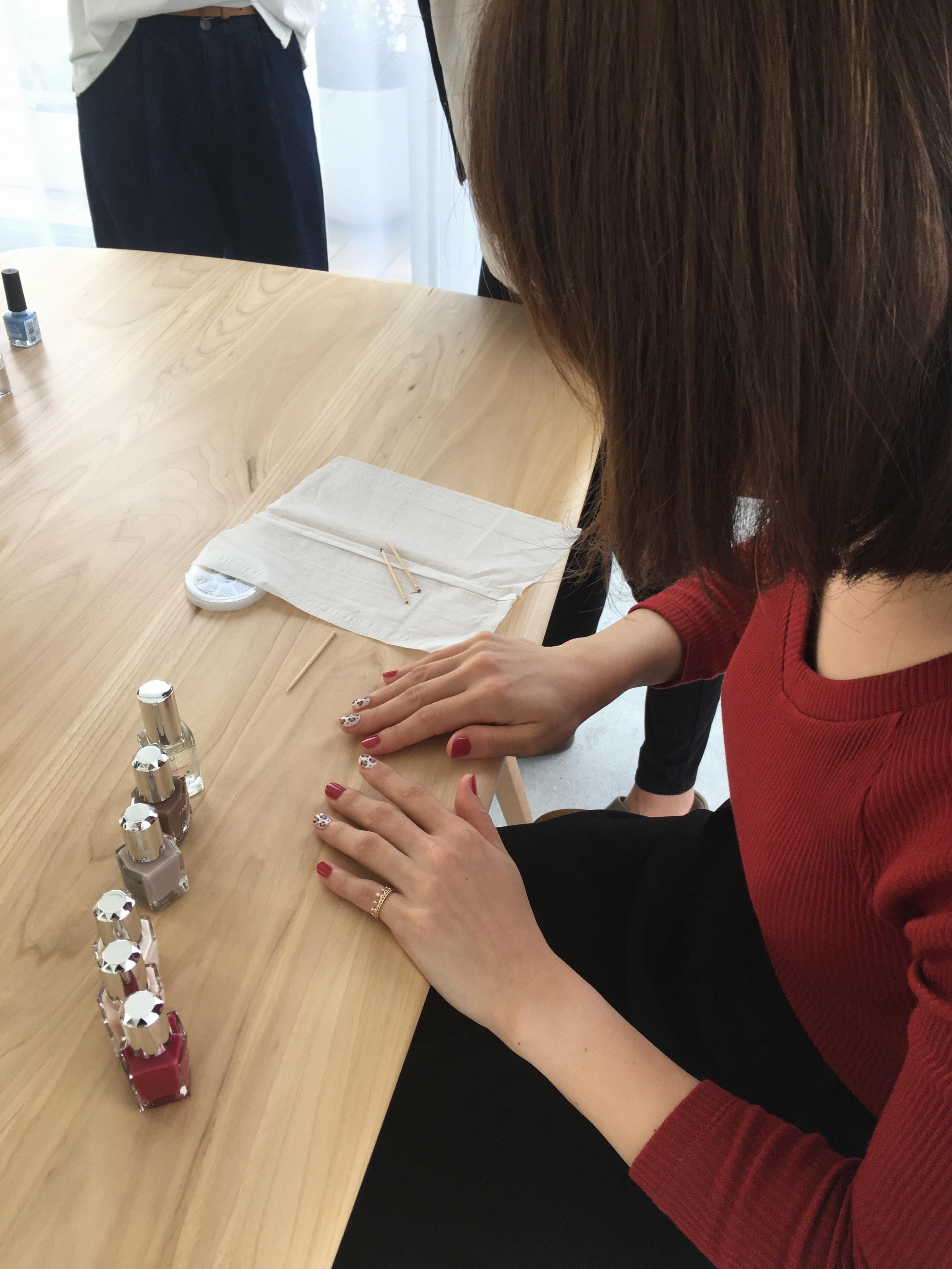 【モアハピ部のトレンドプレゼン大会】MORE12月号掲載♡簡単セルフネイルをご紹介!_3_2