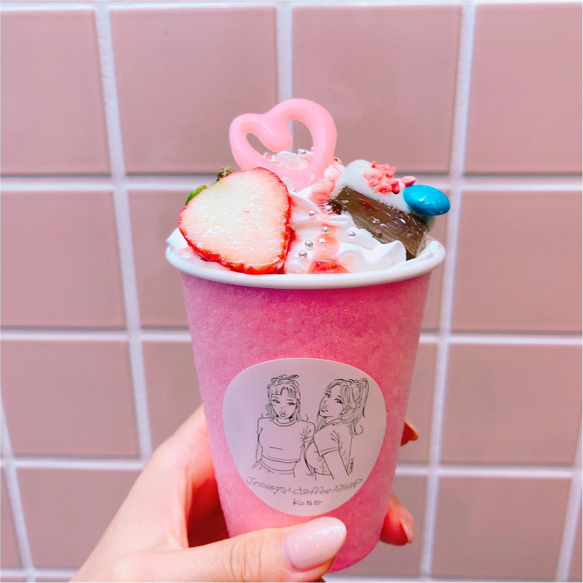 ★神戸の可愛い♡カフェならココ!ピンクの外装が目印『Jessy's coffee shop』★_2