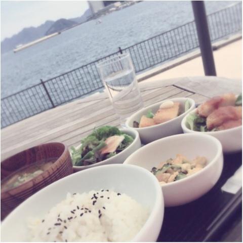 【ACTUS広島】海を見ながらランチができるSOHOLM CAFE❤️_4