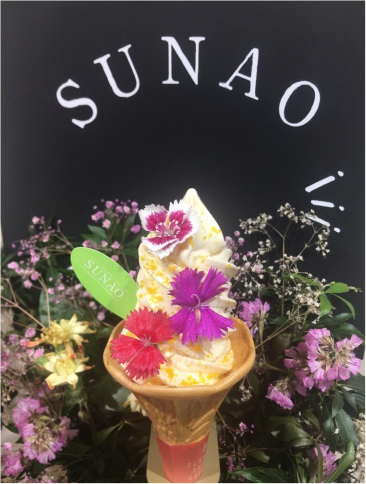 【期間限定!〜5/27(日)】表参道にフォトジェニックなソフトクリームスタンドが出現!SUNAOの『Flower Soft Stand』に行かなくちゃ♡♡_10