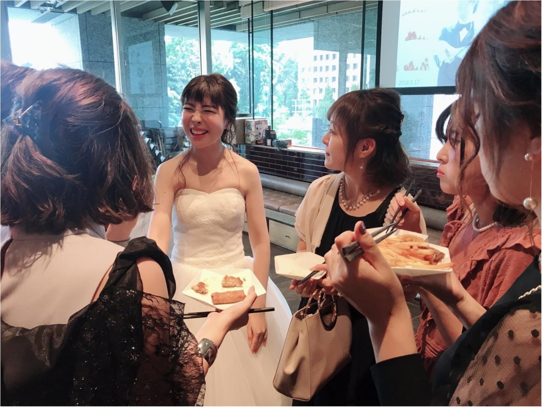 【Happy wedding❤︎】モアハピ部同期の結婚式にみんなで参加してきました!!挙式から二次会まで写真たっぷりでレポートします♡_14
