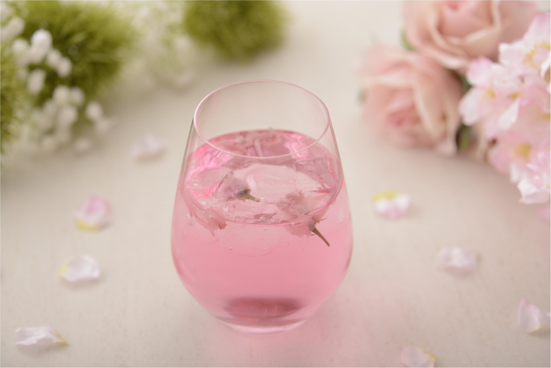 『アニヴェルセルカフェ』で大人の桜を味わって♡_2