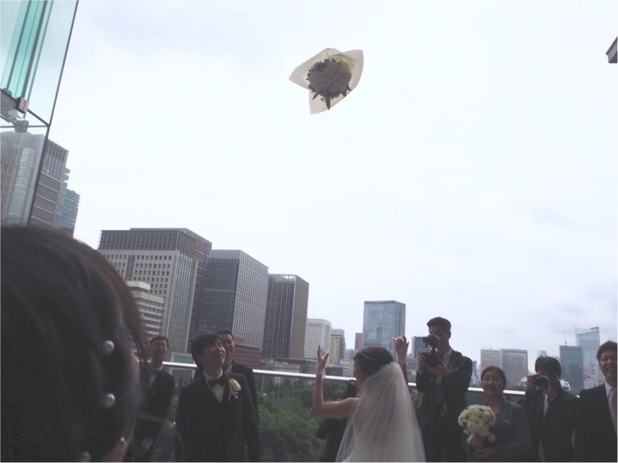 【パレスホテル東京】MOREインフルエンサーNo.600 asuちゃんの素敵な結婚式❤︎_4