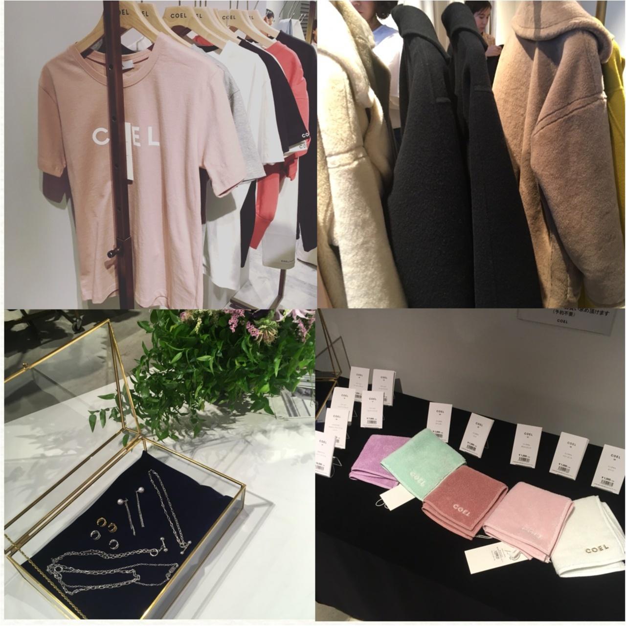 """モデル*ヨンアちゃんディレクションのブランド""""COEL""""のデビューコレクション/ポップアップストアに行ってきました!♡_3"""