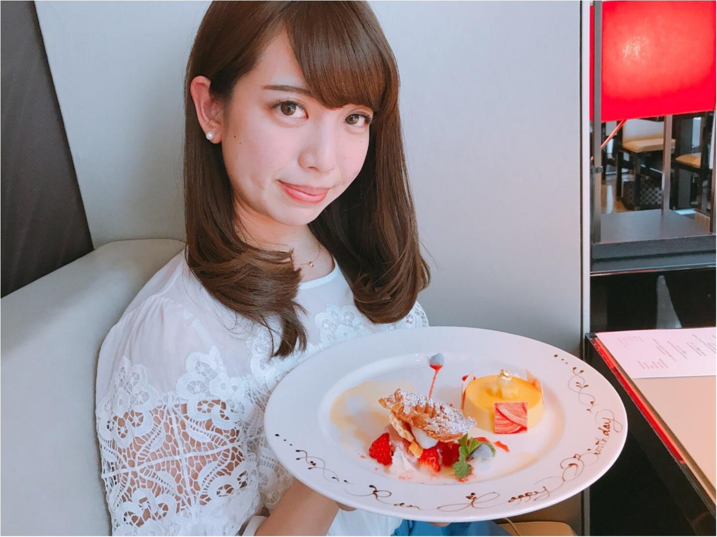 ブランド力!!オシャレな【ARMANI CAFFE】でお誕生日会☆_6