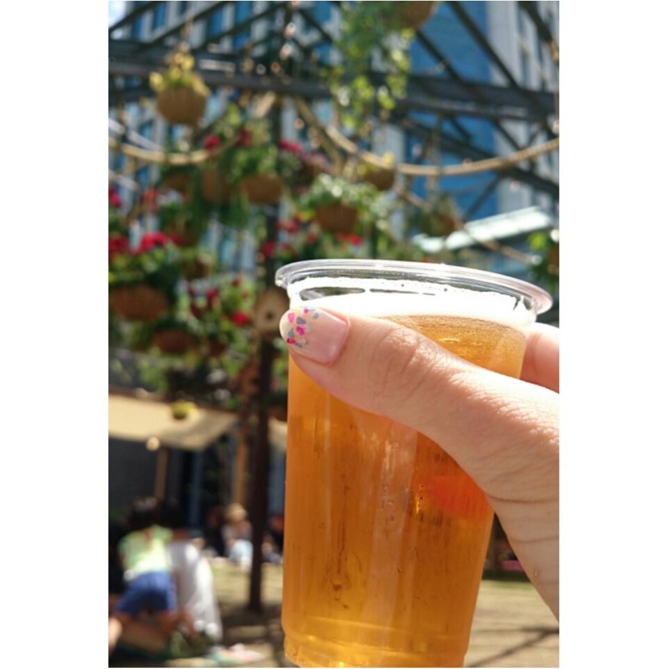 芝生の上でビール♡二子玉川で至福の時間を☺︎︎_9