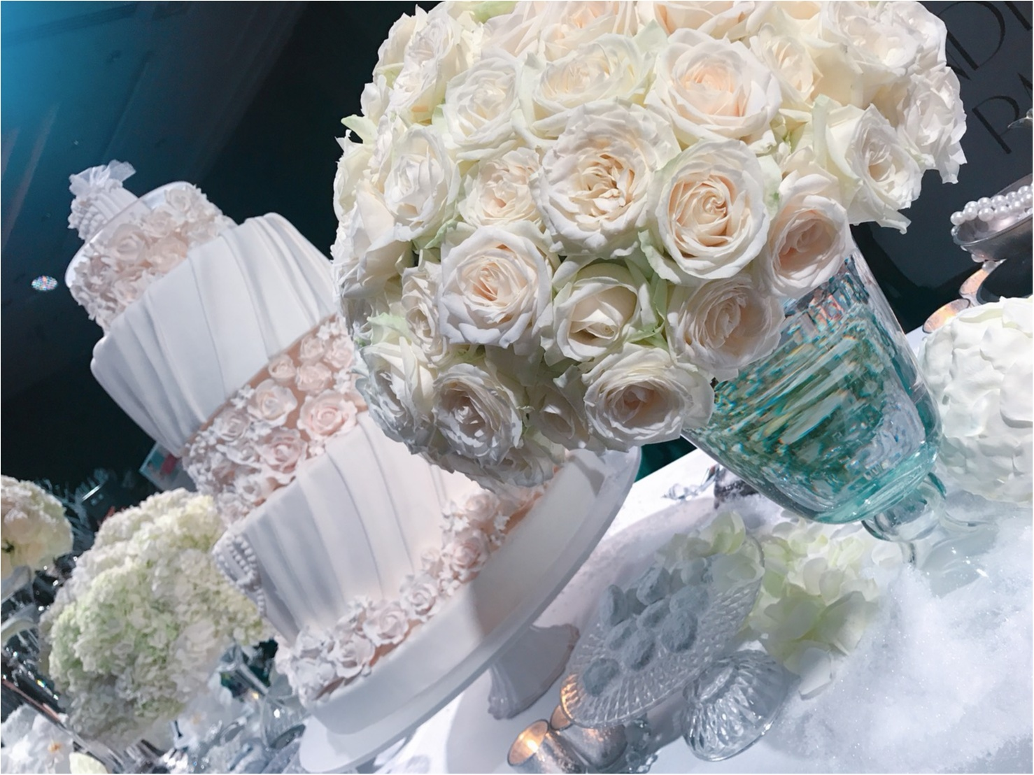『真っ白な世界が可愛すぎ!』女の子が大好きな物を詰め込んだ palece hotel tokyo の winter wonderland party へ ❤︎_1_2