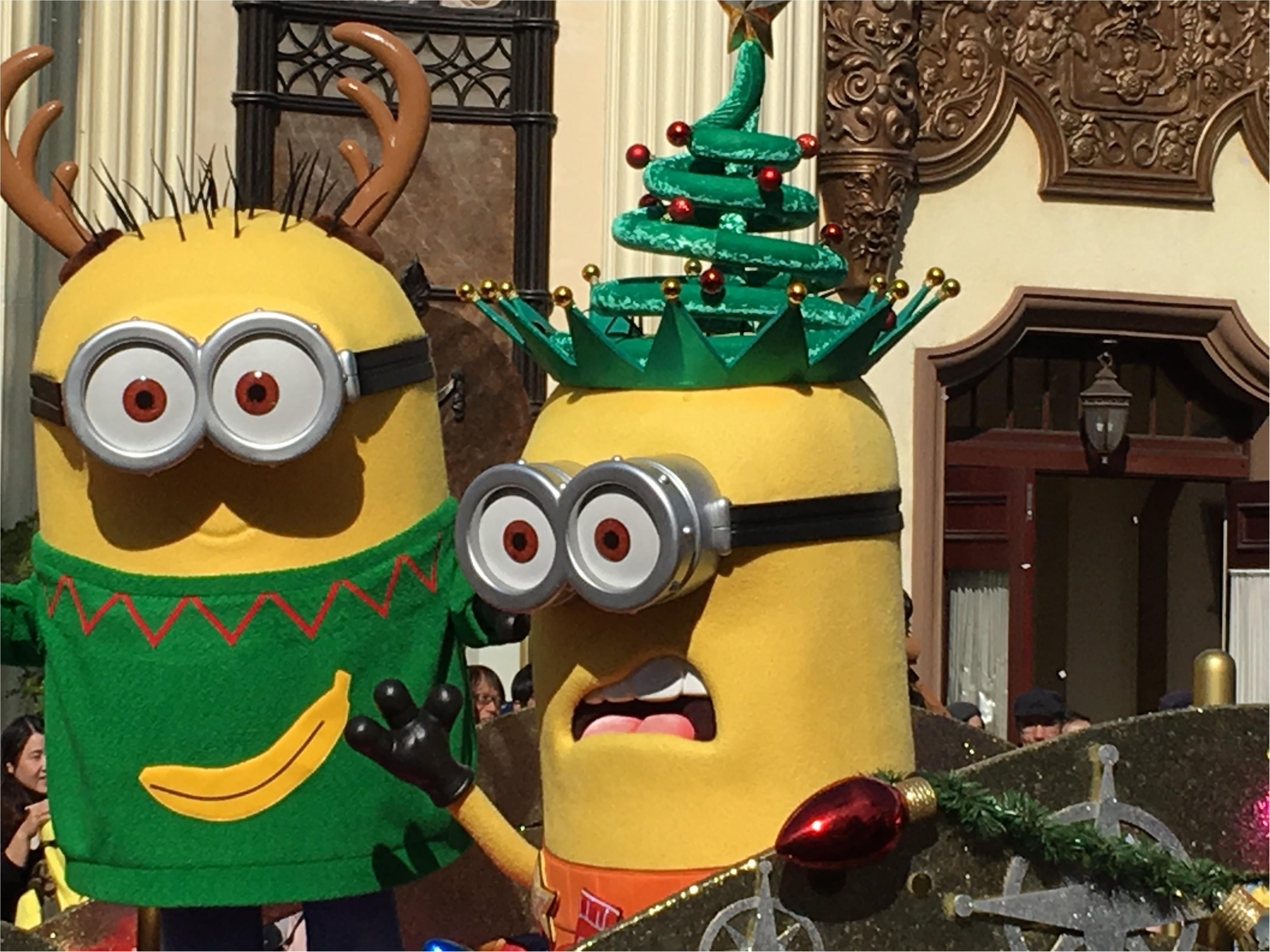 ハチャメチャミニオンが可愛すぎ❤️【USJクリスマス】のフォトジェニックスポットはここ!_11
