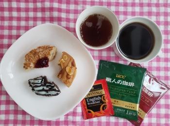 【クリスピー・クリーム・ドーナツ】期間限定3種をお手軽☆コーヒー・紅茶でフードペアリング♡
