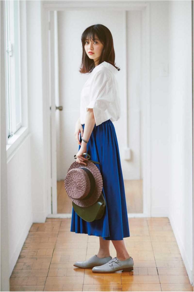スカート,通販,きれい色,モアオリジナル,逢沢りな