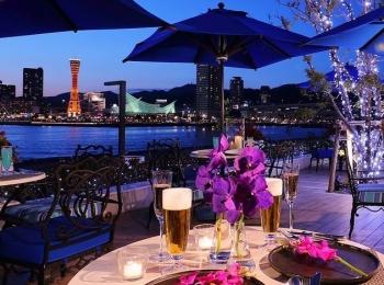 神戸の夜景を目の前に、ミシュランの味を楽しめる「オーシャンズビアガーデン2019」【#ビアガーデン 2019 神戸】