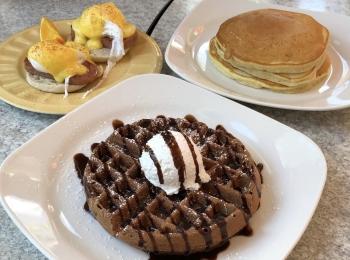 【グアム旅#2】とろふわっ食感♡the Kracked Eggで幸せ度120%の朝食を♩