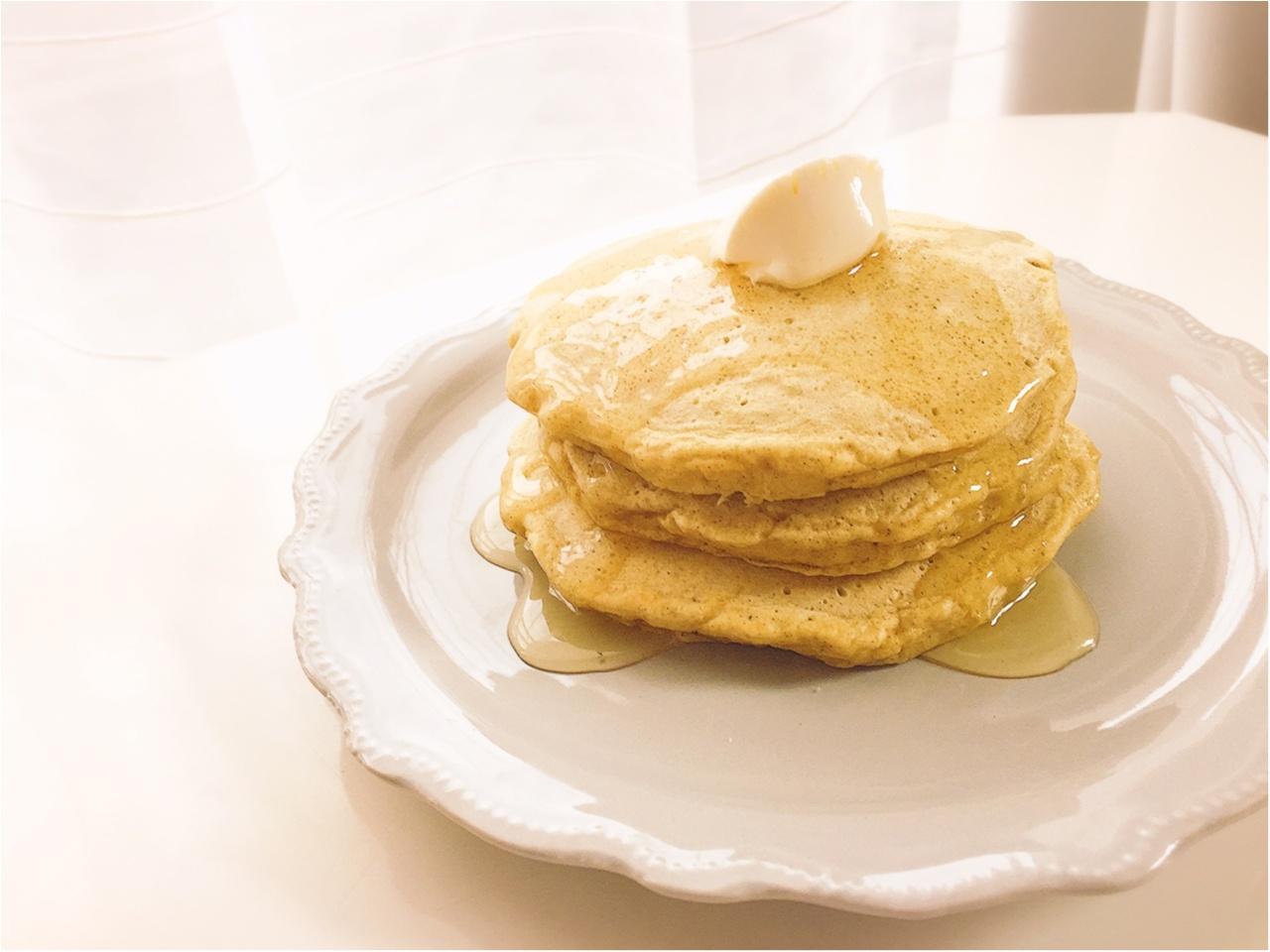 【おうちカフェ】シンプルな美味しさ!ふわもち食感がたまらないっ!『九州パンケーキ』で朝が楽しみになる!!_3
