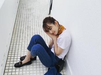 【飯豊まりえの撮影オフショット】雨にも負けず可愛いまりえってぃのオフショット♡