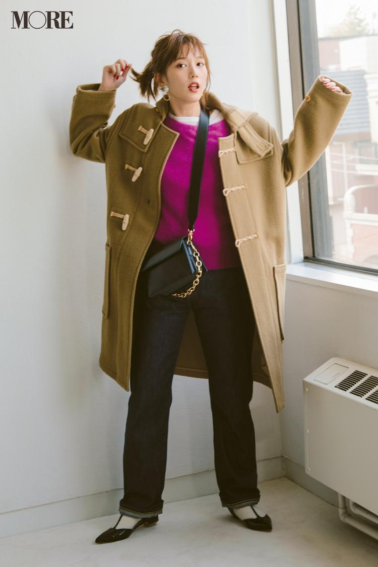 """男子はやっぱり【ニット】がお好き♡ 本田翼が""""理想のデートコーデ""""を着こなします! 記事Photo Gallery_1_5"""