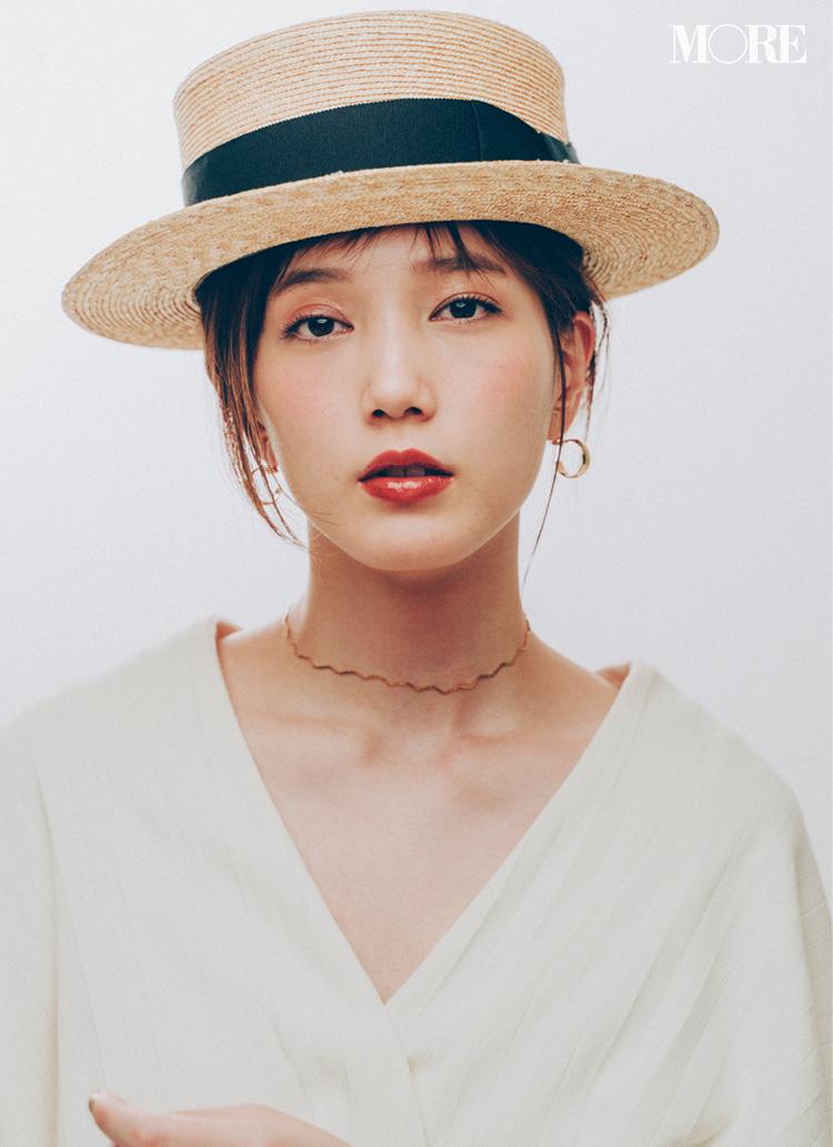 カンカン帽が復活♡ 2019年のかぶり方は、本田翼らモアモデルを参考に!_1