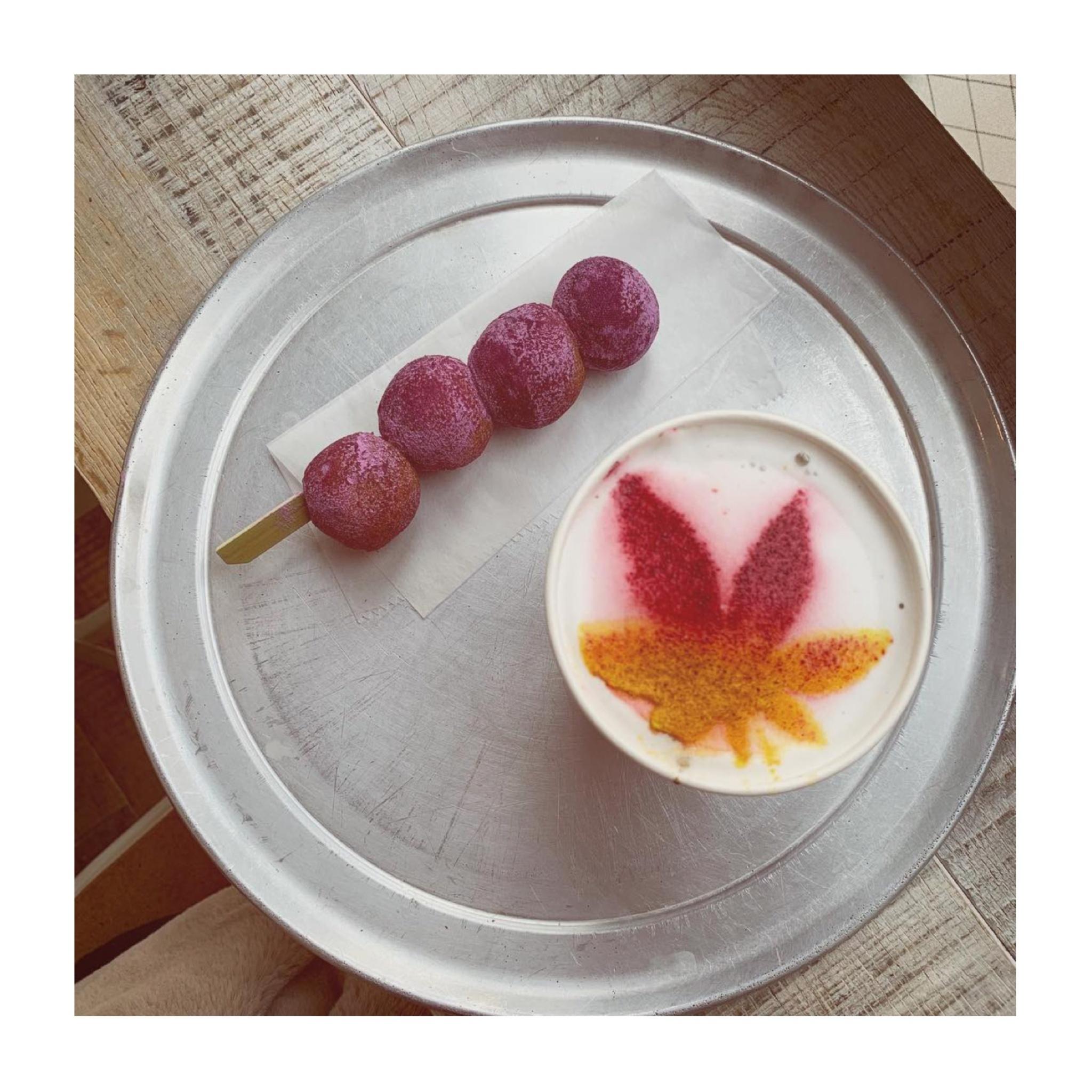 #19【#cafestagram】❤️:《東京•広尾》〜11/25まで期間限定!大人気カフェ『CANVAS TOKYO』で飲める紅葉のカラーラテをチェック☻_4