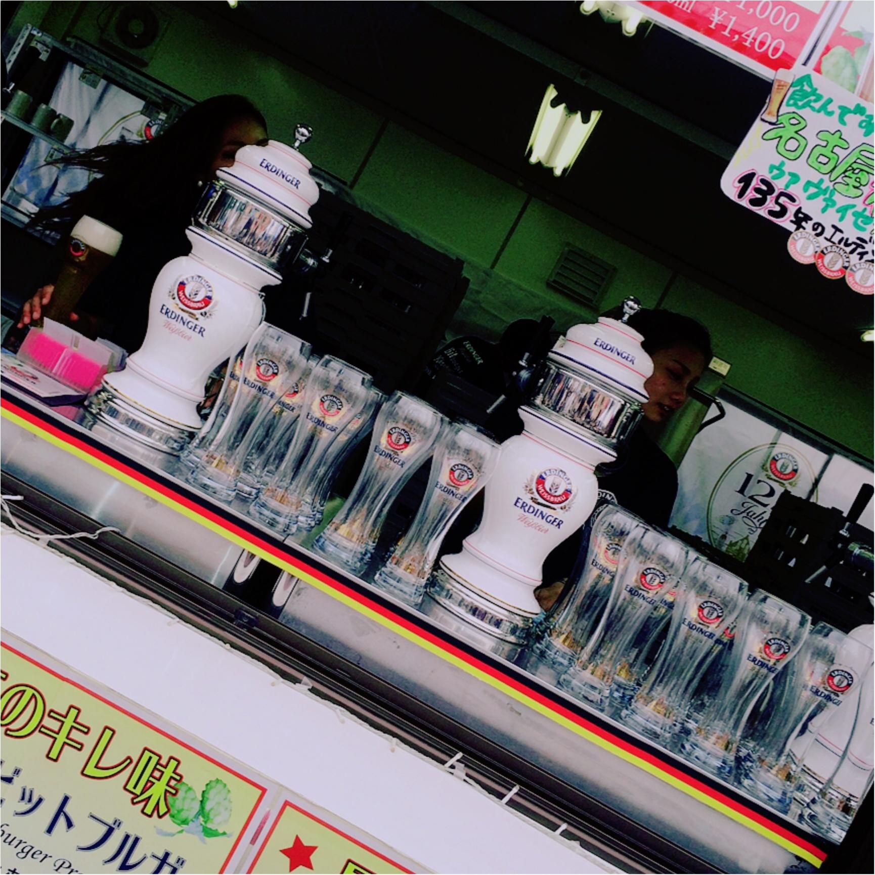★暑い暑い夏だから!オクトーバーフェストで美味しいビールを!★_5