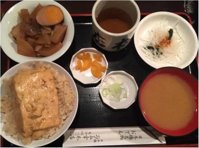 【日本橋名物】とうめし。って知ってる?〜ご飯×豆腐がなんでこんなに美味しいの〜 _8