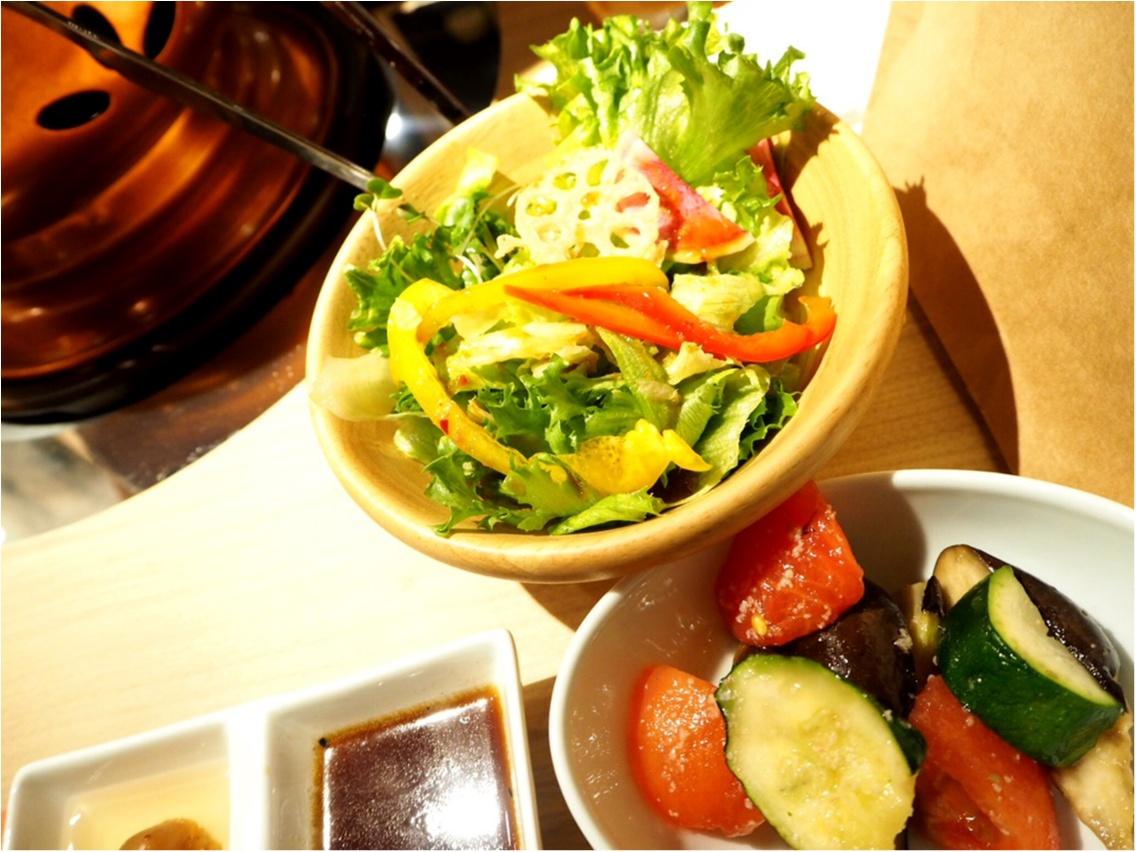 お肉と旬野菜のマリアージュ♡ふうふう亭 緑席_8