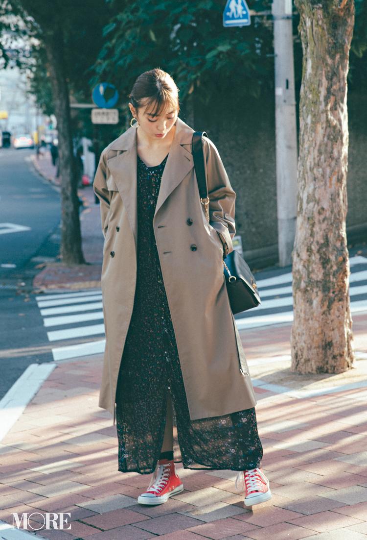20代女子に似合う【きれいめの服×スニーカー】のコーデまとめ | ファッション_1_3