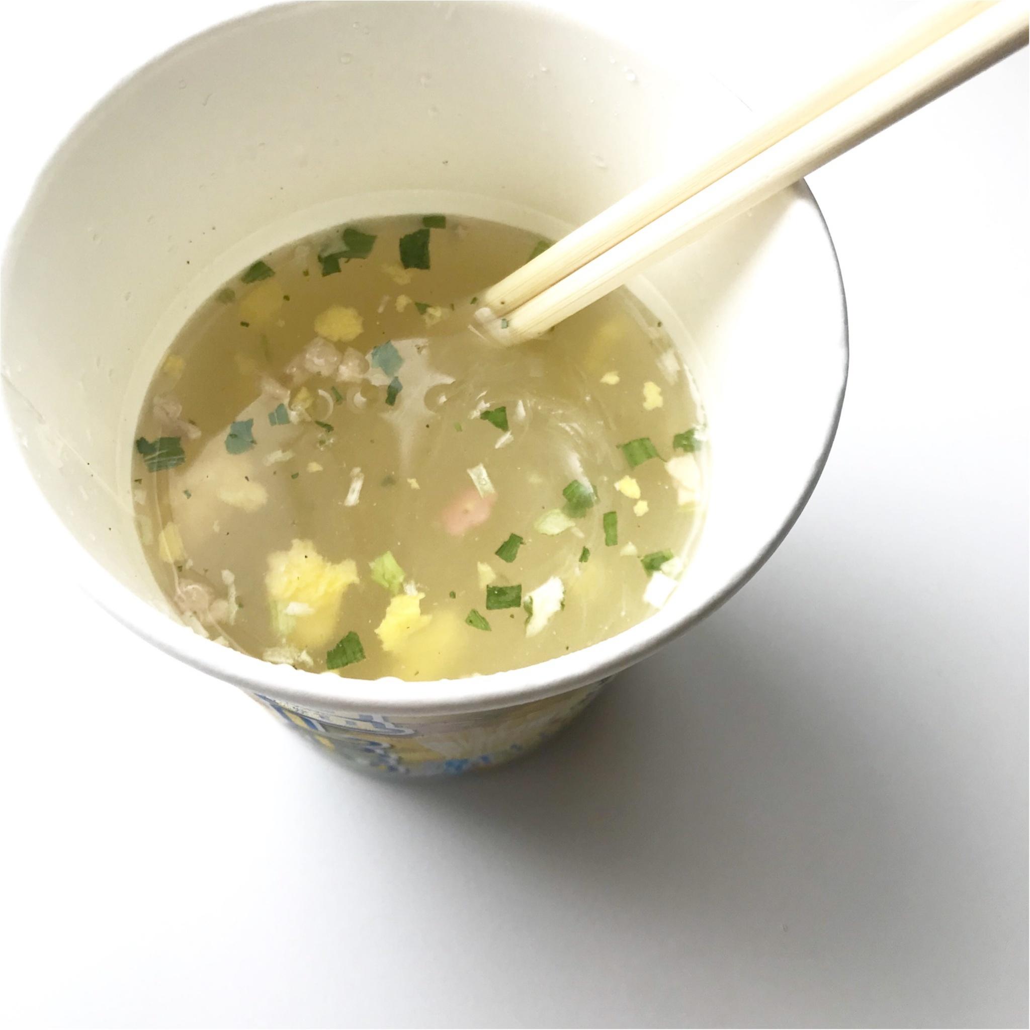 """「スープはるさめ 塩レモン」で""""冷やし春雨""""はじめました!_2_3"""