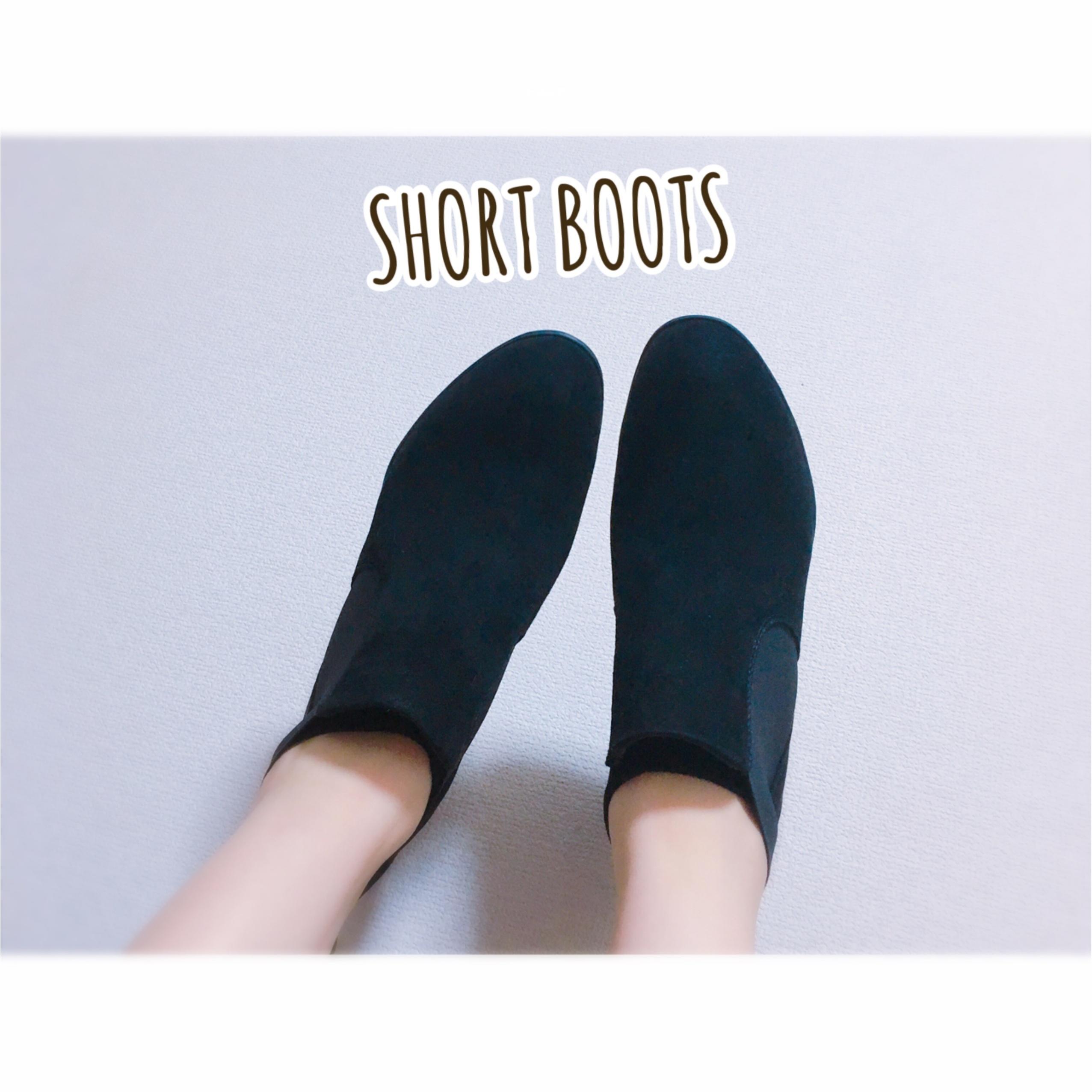 ▷オシャレで足に優しい【fitfit ショートブーツ】_1